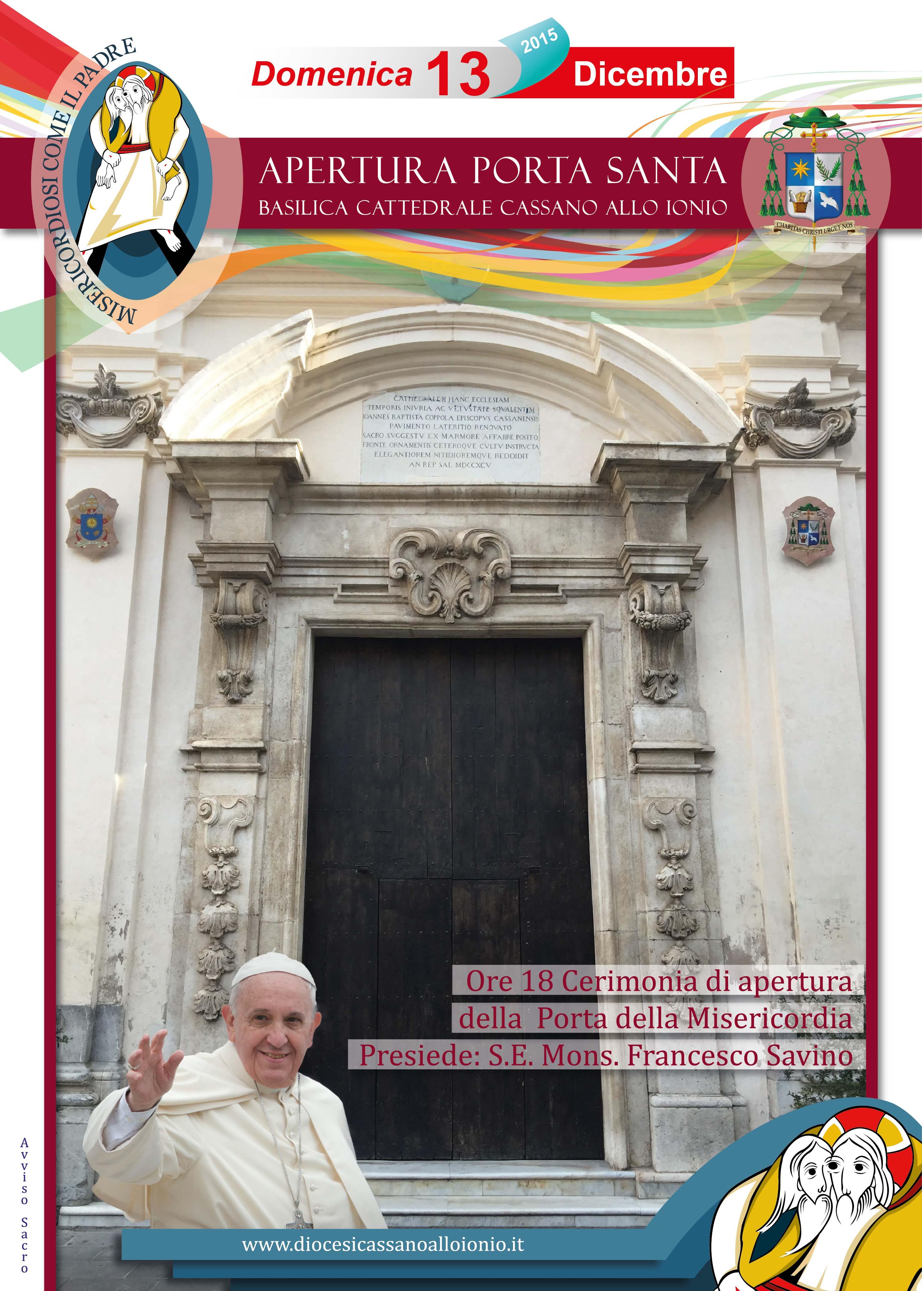 Giubileo domenica 13 dicembre apertura porta santa - Apertura porta di roma ...