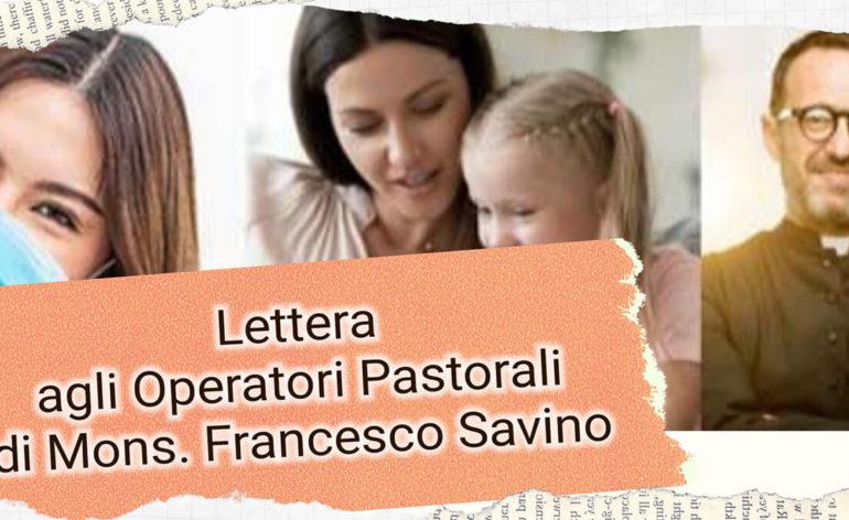 lettera agli operatori pastorali