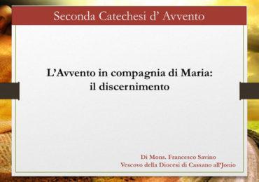 seconda catechesi di avvento Maria