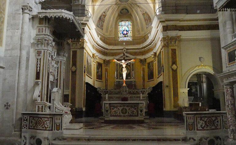 presbiterio della Cattedrale di Cassanoi
